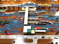 小田原駅は、東海道新幹線、東海道本線、小田急線、箱根登山鉄道、伊豆箱根鉄道大雄山線が発着する駅