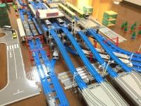 常磐線・東武スカイツリーライン・つくばエクスプレス・日比谷線「北千住駅」を再現