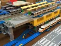「北千住駅」を再現、街の駅はプラキッズ対応よりも前の旧製品を使用