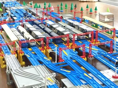 函館本線の再現「札幌駅」車両はもちろん北海道の車両だけを並べてみた