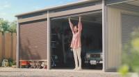 「ヨドガレージ ラヴィージュ�V」の新CM「ガレージをもっと楽しもう。」篇より