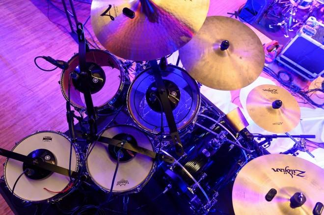 「音響再現装置」を取り付けたドラム 写真提供/ヤマハ