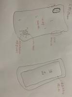 人肉iPhoneのデザイン画