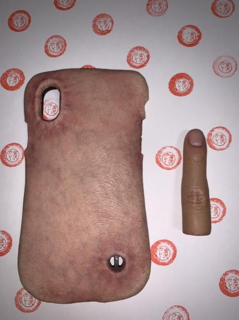 「人肉iPhone」と「人肉印鑑」