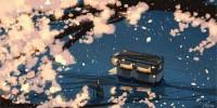 夜桜と満月珈琲店