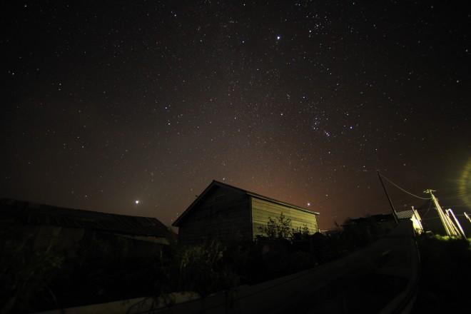 利尻島の星空