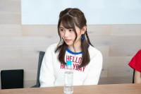 インタビューに答える田村愛美鈴