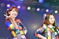 (左から)柏木由紀、岩立沙穂=AKB48『僕の夏が始まる』公演 公開ゲネプロより (C)ORICON NewS inc.