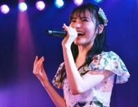 福岡聖菜=AKB48『僕の夏が始まる』公演 公開ゲネプロより (C)ORICON NewS inc.