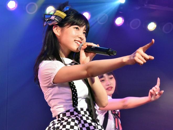 谷口めぐ=AKB48『僕の夏が始まる』公演 公開ゲネプロより (C)ORICON NewS inc.