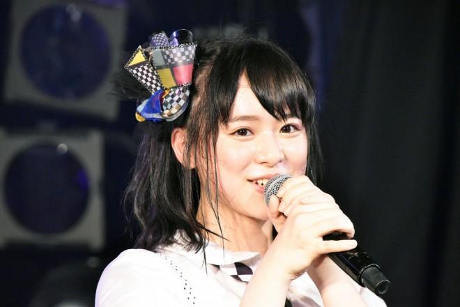 倉野尾成美=AKB48『僕の夏が始まる』公演 公開ゲネプロより (C)ORICON NewS inc.