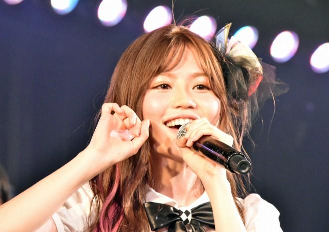 込山榛香=AKB48『僕の夏が始まる』公演 公開ゲネプロより (C)ORICON NewS inc.
