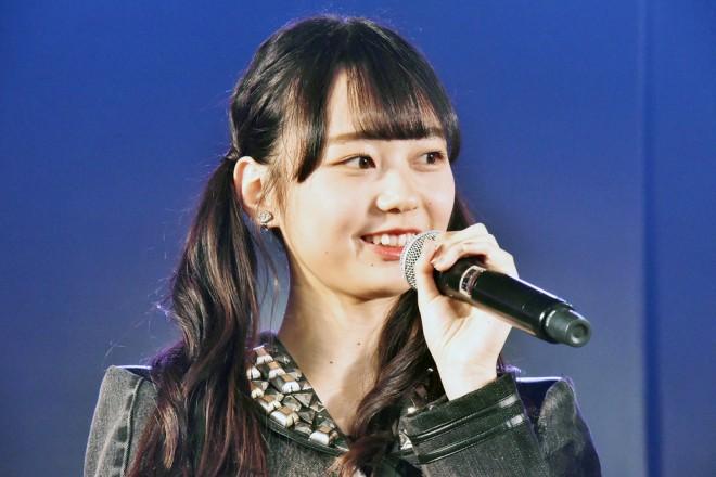 大盛真歩=AKB48『僕の夏が始まる』公演 公開ゲネプロより (C)ORICON NewS inc.