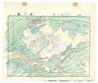 「アルプスの少女ハイジ」レイアウト画(C)ZUIYO「アルプスの少女ハイジ」公式ホームページhttp://www.heidi.ne.jp/=『高畑勲展─日本のアニメーションに遺したもの』東京国立近代美術館で開催中(7月2日〜10月6日)