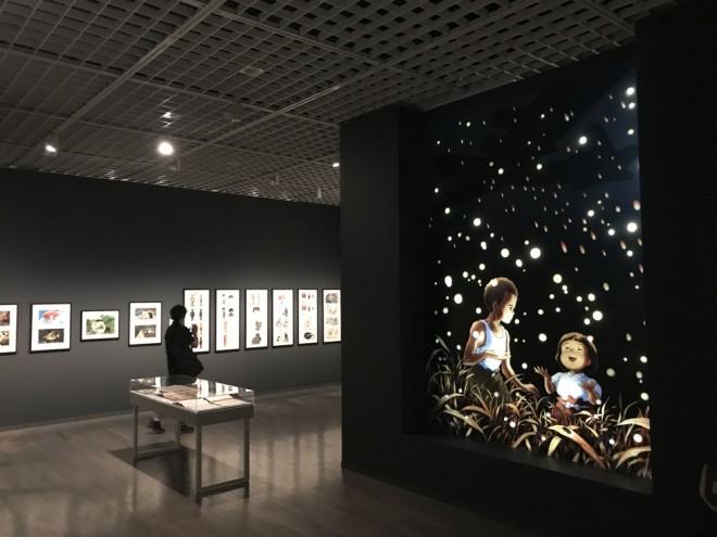 『火垂るの墓』(C)野坂昭如/新潮社.1988=『高畑勲展─日本のアニメーションに遺したもの』東京国立近代美術館で開催中(7月2日〜10月6日)