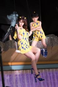 東京ガスの新CMにラムちゃんとして出演する深田恭子(メイキングカット)