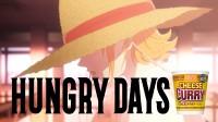 日清食品のカップヌードルCMシリーズ「HUNGRY DAYSワンピース ナミ篇」より