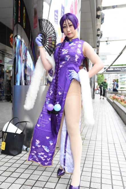 『NEWレイヤーズ★パラダイス』コスプレイヤー・可欣(ほえこ)さん<br>(『FGO』源頼光)