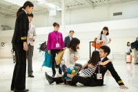 杏沙子が主題歌を務める、ドラマL『ランウェイ24』第3話より (C)ABCテレビ