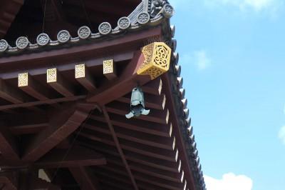 風鈴のはじまりと言われる風鐸 画像提供:川崎大師