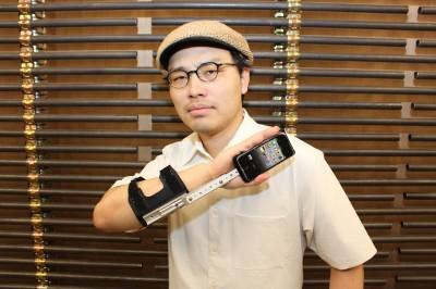 仕込みiPhone3号機