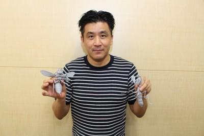 開発担当の誉田恒之氏