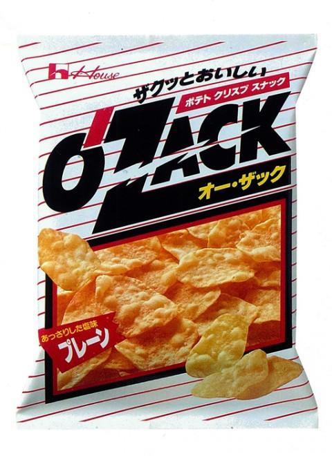 1990年に発売された『オー・ザック』の「プレーン」味