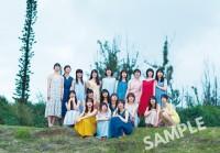 日向坂46グループ写真集のローソンポストカード特典(撮影/YOROKOBI)