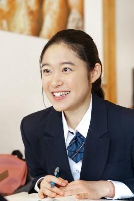 """""""腐女子""""のヒロインを演じた、藤野涼子 (C)NHK"""