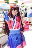 『世界コスプレサミット2019 in TOKYO』コスプレイヤー・るかさん<br>(『ラブライブ!サンシャイン!!』黒澤ダイヤ)