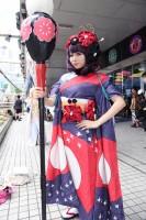 『世界コスプレサミット2019 in TOKYO』コスプレイヤー・りりなさん<br>(『FGO』葛飾北斎)