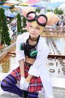 『世界コスプレサミット2019 in TOKYO』コスプレイヤー・Kaoriさん<br>(『プロメア』ルチア・フェックス)