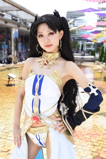 『世界コスプレサミット2019 in TOKYO』コスプレイヤー・はのんさん<br>(『FGO』イシュタル)