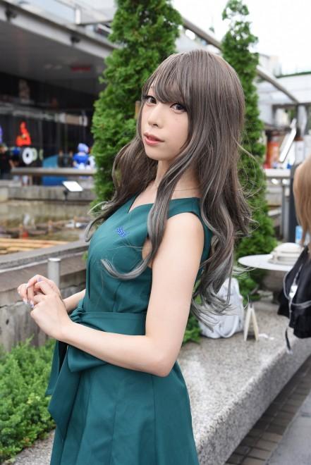 『世界コスプレサミット2019 in TOKYO』コスプレイヤー・宮本彩希さん<br>Bioreブースの公式コスプレイヤー