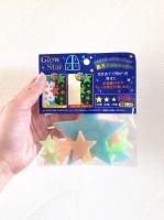 中に入れた光る星と光る石は100均で購入(制作・写真:むーさん)