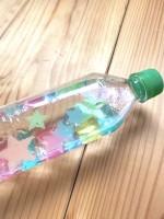 ペットボトルと100均で売っている雑貨で作れるお手軽おもちゃ(制作・写真:むーさん)