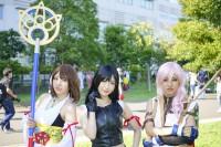 『コミックマーケット96(C96)』コスプレイヤー・星園琴月さん、神園雫さん、瀧園冥叉さん