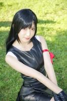 『コミックマーケット96(C96)』コスプレイヤー・神園雫さん<br>(『FF7』ティファ・ロックハート)