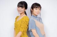 田村芽実(左)の3rdシングル「舞台」は、吉澤嘉代子(右)が楽曲提供  対談インタビューの模様