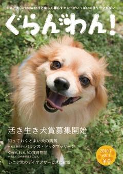 『ぐらんわん!』Vol.8 表紙:ミルキーちゃん(チワワ・当時7歳)