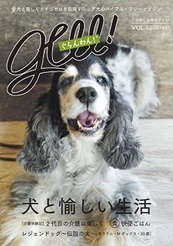 『ぐらんわん!』Vol.43 表紙:ウィンディちゃん(Eコッカー・当時14歳)