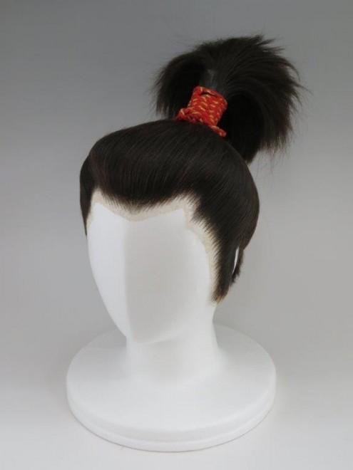山田かつら制作「総髪きりわら」