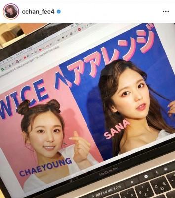 韓国アイドルのヘアアレンジを解説した動画も人気(本人Instagramより)