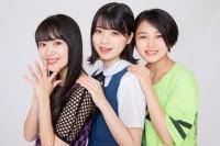 BEYOOOOONDS(左から)里吉うたの、小林萌花、平井美葉(撮影/西田周平)