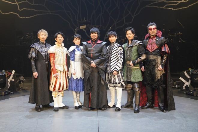 今年1月12、13日に舞浜アンフィシアターで開催された、第三弾公演『Chevre Note 〜シェーヴルノート〜』出演者(C)READING HIGH