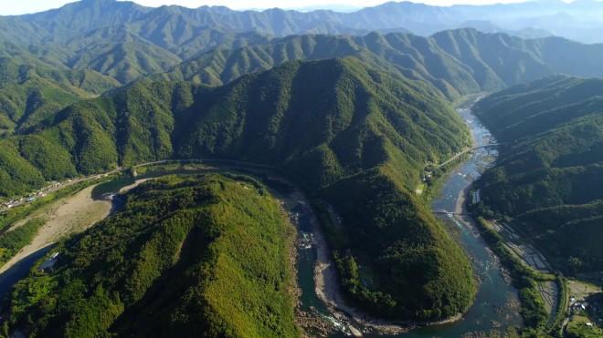 『さわやか自然百景』高知県・四万十川(番組提供)