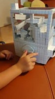 PORCOさんの弟が制作した紙工作作品