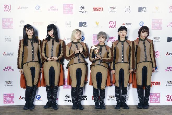 『VIDEO MUSIC AWARDS JAPAN 2019』に出演したBiSH