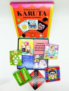 20日より販売開始した「Smiling Sushi Roll KARUTA」