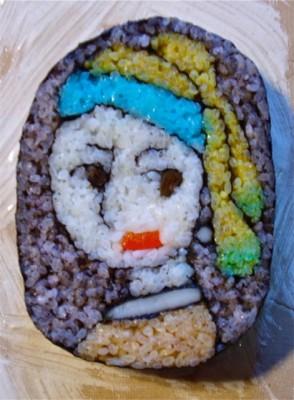 「Sad Blue」 制作&写真/たまちゃんのにっこり寿司
